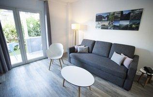 Living room Hotel Coral Compostela Beach Golf