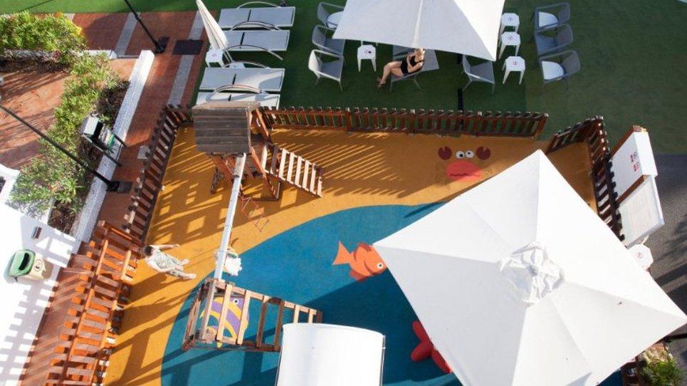 Playground Coral Compostela Beach Golf Hotel