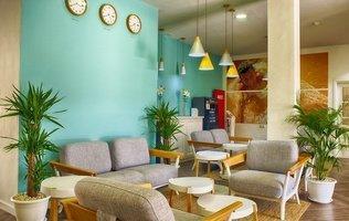 Lobby Hotel Coral Compostela Beach Golf