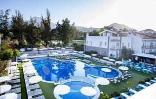 Panoramic view Hotel Coral Compostela Beach Golf